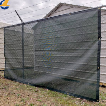 Bâches d'ombre de clôture de maille en plastique