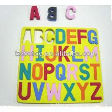 Brinquedos do alfabeto magnético