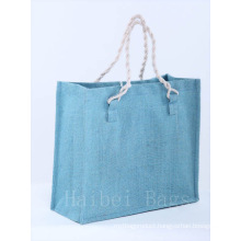 Environmental Protection Jute Shopping Bag (hbjh-65)