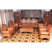 Sofá de Padauk Afican de gama alta de 10 piezas con estilo de la dinastía Ming