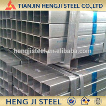Square / Rectangle Galvanized Steel Tube Thickness 2.0mm