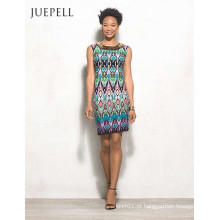 África Floral Print Mulheres Casual Dress