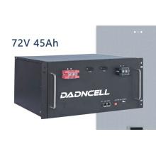 Fabrik Kundenspezifische stabile 72V 45Ah LiFePO4 Transport beste Batterie Batterieunternehmen
