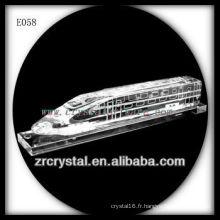 Modèle de trafic de cristal délicat E058