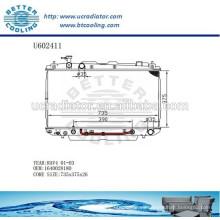 Radiador Para TOYOTA 01-03 RAV4 Auto1640028180 Fabricante y Venta Directa