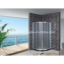 Cabine de douche en verre acide (AS-901 sans plateau)