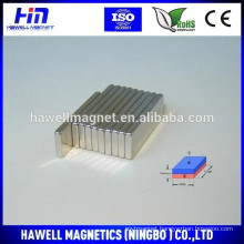 High Performance block N52 sintered Neodymium Magnet/Permanent Magnetic square Magnet