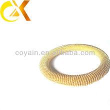 Brazalete de chapado en oro de la joyería del acero inoxidable de los nuevos productos al por mayor para las mujeres