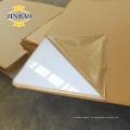 material de decoración oro gloth plexiglás shet