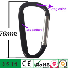 High Quality Aluminum Lanyard and Keyring Carabiner
