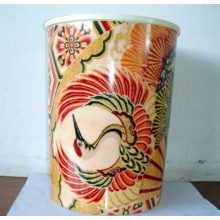 Heat Transfer Film on Plastic Bucket