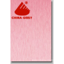 Brush Finish Aluminium Composite Panel (Geely-206)