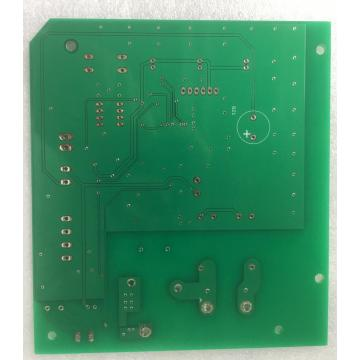 2 layer green solder power controller PCB