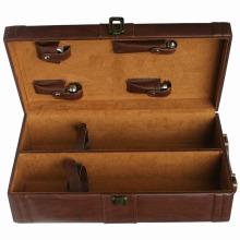 Изготовленная на заказ коробка подарка деревянная для пакета / ювелирных изделий / вина / чая (W08)