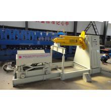 Dérouleur automatique de bobines de tôle d'acier de couleur 10T hydraulique