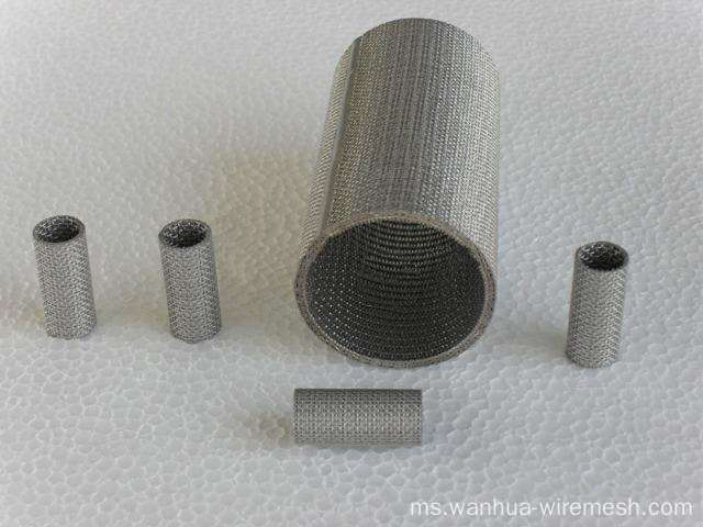 mesh wire screen penapis sintered