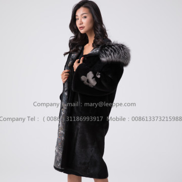 Mink Fur Mink For Lady Reversible