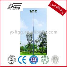 Pólos de aço para luz elétrica