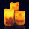 Flimmern flammenlose LED-Kerze