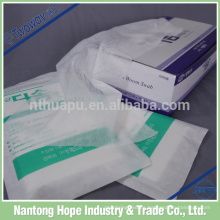 Compresa no tejida absorbente médica de la esponja no tejida