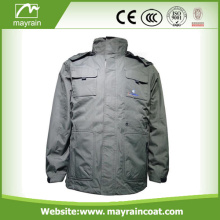 Winter Mens Jacket avec capuche veste extérieure