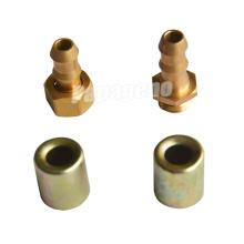 Raccords de tuyaux hydrauliques mâles flexibles de haute qualité à haute pression