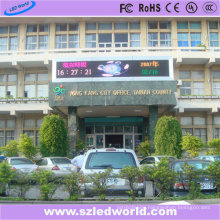 P10 Three Color Outside LED Display Message Board
