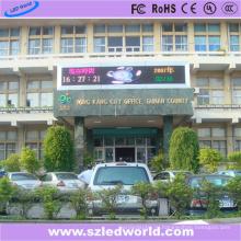 Р10 три цвета, внешний светодиодный дисплей доска объявлений