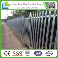 Glavanized Heavy Duty Steel Bar Palisade Fence
