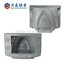 Precisión personalizado de moda y barato LCD caja de plástico molde de la caja, piezas de inyección de piezas de plástico TV LED molde de inyección