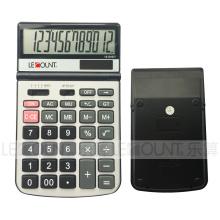 Calculadora de mesa de escritório de energia solar de 12 dígitos de tamanho médio (CA1115C)