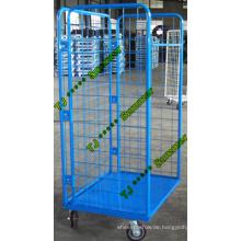 Supermarkt Stahl Roll Container Hersteller