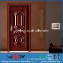JK-SW9612G luxury lowes French interior wood door steel surface