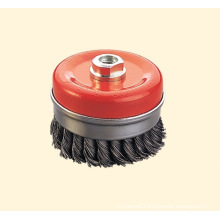 Twist Cup Wire Brush with Bridle Ring