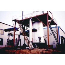 Single Section Hot Coal Gasifier