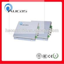 Aucas alta estabilidade Gigabit SFP Media Converter, comutadores de rede de fibra óptica