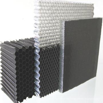 500 * 500mm Aluminium Wabenkernbrett für Trennwände verwendet