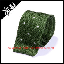 Tricot Embroidered Knitting Necktie