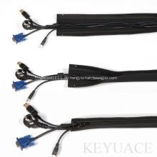 Neopren-Reißverschluss-Kabel-Management-Ärmel