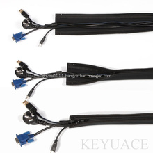 Neoprene Zipper Cable Management Sleeve