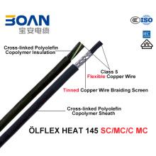 High Temperature/Heat Resistant Cable Olflex Heat 145 Sc/Mc/C Mc