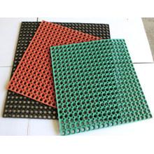 Drainage Rubber Mat, Anti Slip Grass Rubber Mat