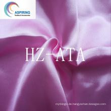 100% Polyester Günstige Satin Stoff 120G / M