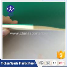 Usine de revêtement de sol en plastique d'intérieur bon marché