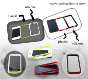 Plastic Case for iPhone 5, Easy to Snap-on Attachment, with Soft Texture