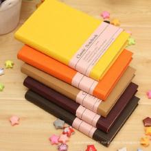 Carnet à couverture rigide personnalisé impression offset impression couleur