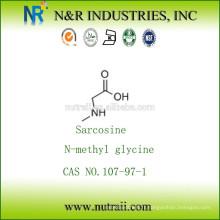 Poudre de N-méthyl glycine / sarcosine 107-97-1