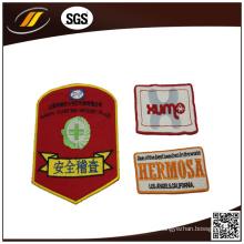 Patch de tecido de bordado / patch de bordado personalizado / patch personalizado de velcro