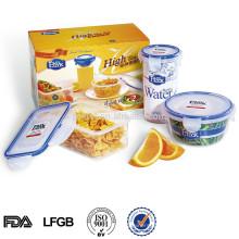 Großhandel Werbeartikel China Kunststoff Aufbewahrungsbehälter Set lokale Produkte