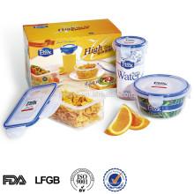 produtos promocionais por atacado china recipiente de armazenamento de plástico definir produtos locais